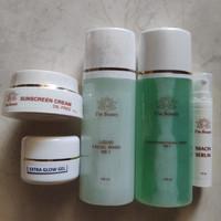 I'm Beauty paket NS1 oily skin extra glow gel isi 5 - flek berat