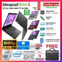LAPTOP LENOVO IDEAPAD SLIM 3 - i3-1005G1 4GB 256GB SSD 14 FHD W10