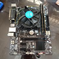 Gigabyte H81M-DS2 - Pentium Dual Core G3240 - 4GB DDR3