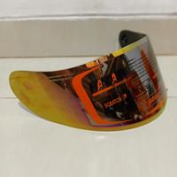 visor flat iridium silver kyt r10 kyt rc7 kyt k2r
