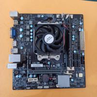 Motherboard ECS A68F2P-M4 FM2 + AMD A6 + RAM DDR3 4 GB Avexir
