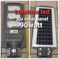 kap pju tenaga surya matahari 90w lampu jalan solar panel 90watt cell