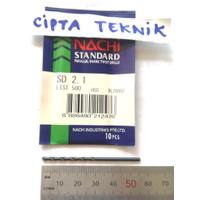 Mata Bor Besi Nachi 2,1mm - Matabor Besi Nachi 2.1mm