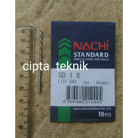 Mata Bor Besi Nachi 1,8mm - Matabor Besi Nachi 1.8mm