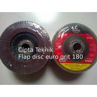 Mata Gerinda Amplas Flap disc euro 4 inchi grit 180