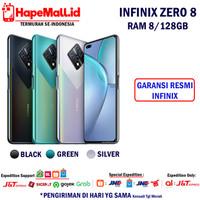 INFINIX ZERO 8 RAM 8/128GB GARANSI RESMI INFINIX INDONESIA TERMURAH