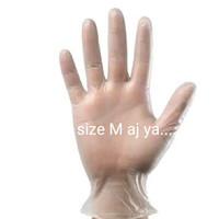 Sarung tangan vynil vinil vinyl free powder food grade