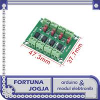Modul PC817 Optocoupler 4 Channel Konverter Isolation Adapter