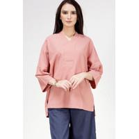 Blouse Wanita / Alga Dark Pink Shirt 23428T5DP - Bodytalk