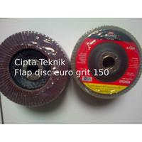 Mata Gerinda Amplas Flap disc euro 4 inchi grit 150