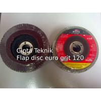 Mata Gerinda Amplas Flap Disc 4 inchi euro grit 120