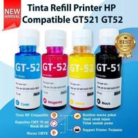 Tinta Refill Cartridge HP 680 682 Black Color Printer 2135 2336 2337