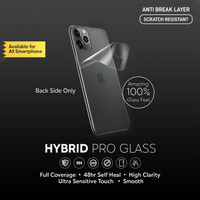 Hybrid Pro Glass Hydrogel Anti Break Screen Protector Full Cover BACK