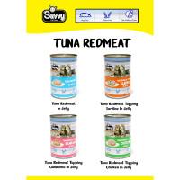 Savvy - 400g Tuna Red Meat kornet kucing