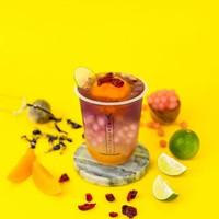 [NEW] Mango Blossom Mochi Drink