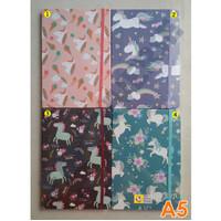 Notebook Hardcover A5 Unicorn NC5048 / Agenda Diary Notes Buku Catatan