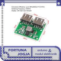 Modul Stepdown DC-DC 6-26V Dual USB Output 5V 3A