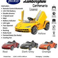 Mainan Mobil Aki Pliko Lamborghini Centenario PK - 3898 PN