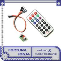 Modul Kit Remot & Penerima HX1838 IR Remote Control Infrared Module