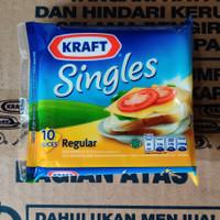 Keju Kraft Singles 10 slices 167gr Cheddar Cheese Serbaguna