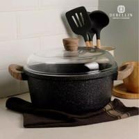 Debellin Original Granite Black Casserole 28 Cm