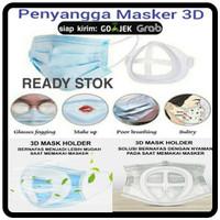 PENYANGGA MASKER 3D MASK BRACKET SILICON PENAHAN MASKER SIRKULASIUDARA