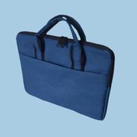 softcase Laptop 11 - 12 inch blue denim sleeve case tas laptop
