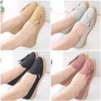 Sepatu Wanita teplek Flat Shoes Pita PM