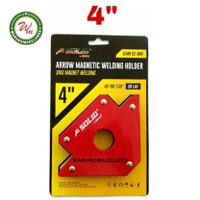 Magnet Holder Arrow Magnetic Siku Magnet Untuk Las 4 inch SOLID