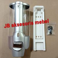 TEMPAT SABUN MANDI SHAMPO CAIR 1 TABUNG / DISPENSER SOAP SINGLE TOUCH
