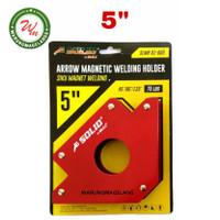 Magnet Holder Arrow Magnetic Siku Magnet Untuk Las 5 inch SOLID