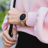 Fossil Smartwatch Gen 4 jam Tangan Rose Gold Stainless