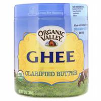 Ghee, Clarified Butter, Organic Valley 13 oz (368g)