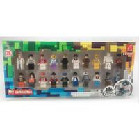 Lego Brick Motif Orang Orangan / Block Lego Motif Orang orangan 20 pcs