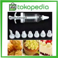 Alat Penghias Kue 8 in 1 / Cake Pen Cake Decoration / Semprotan Cream