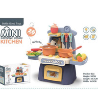 Mainan Mini Electronic Kitchen Set - Masak masakan