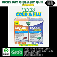 Vicks DayQuil dan NyQuil Severe - Max Strength