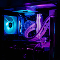 liquid cooler id cooling aura Flow x 240 rgb + 3 fan (SOLD)