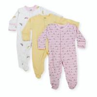 [PRELOVED] Mamas Papas Sleepsuit 0-3M piyama bayi tutup kaki -BIRD