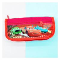 Kotak pensil kain cars v1