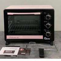 Oxone Eco Series Oven Sakura Pink Ox-7725|Oven Listrik Oxone 25 Liter