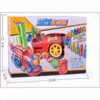 Mainan edukasi anak kereta api domino susun domino