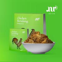 (Rendang Halal NUR BAKE & COOK) Rendang Daging Ayam Kampung 400 Gram - Manis