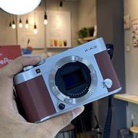 Camera FUJIFILM X - A3 BROWN MAROON FULLSET ORIGINAL