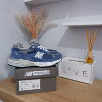 New balance 993 blue silver