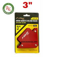 Magnet Holder Arrow Magnetic Siku Magnet Untuk Las 3 inch SOLID