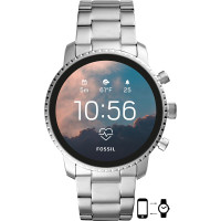 Jam Tangan Fossil Gen 4 Smartwatch HR Stainless Steel (FTW4011)