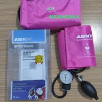 Tensimeter Jarum ABN Spectrum warna Pink