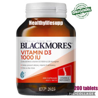 blackmores vitamin d3 1000iu 200 tablet kemasan terbaru