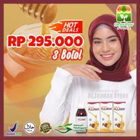 3 Pcs Madu Diet Detox Pelangsing Buah Plum Royal PLUMINA -Paket Sultan
